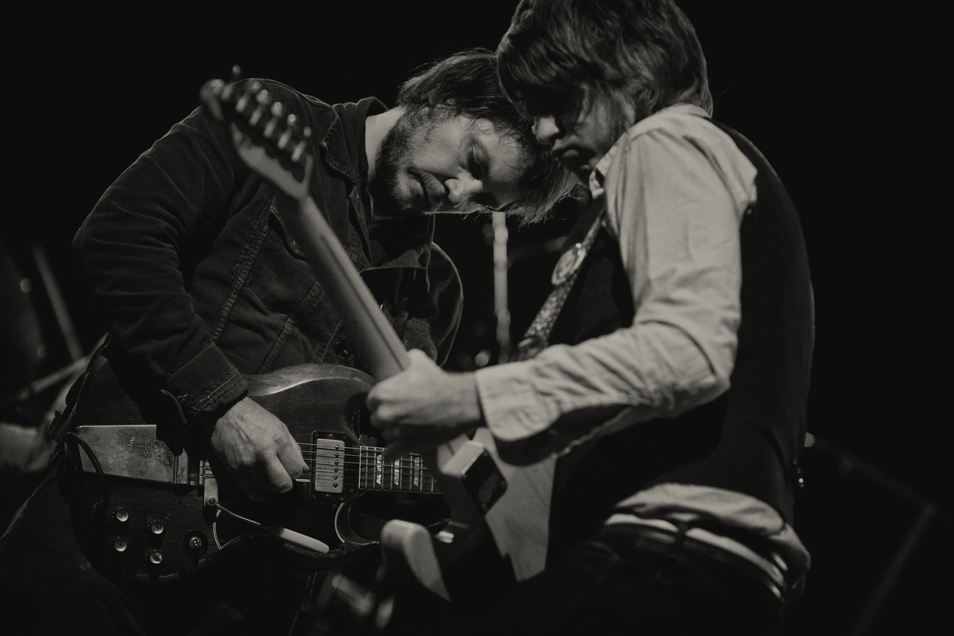 Jeff Tweedy and Pat Sansone of Wilco (Zoran Orlic)