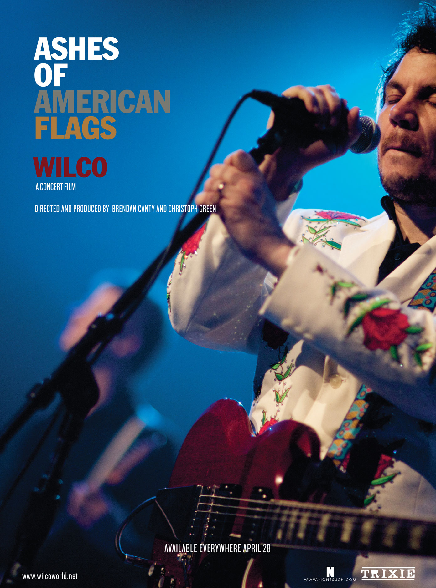 ashes of american flags : live dvd promotional poster © Zoran Orlic